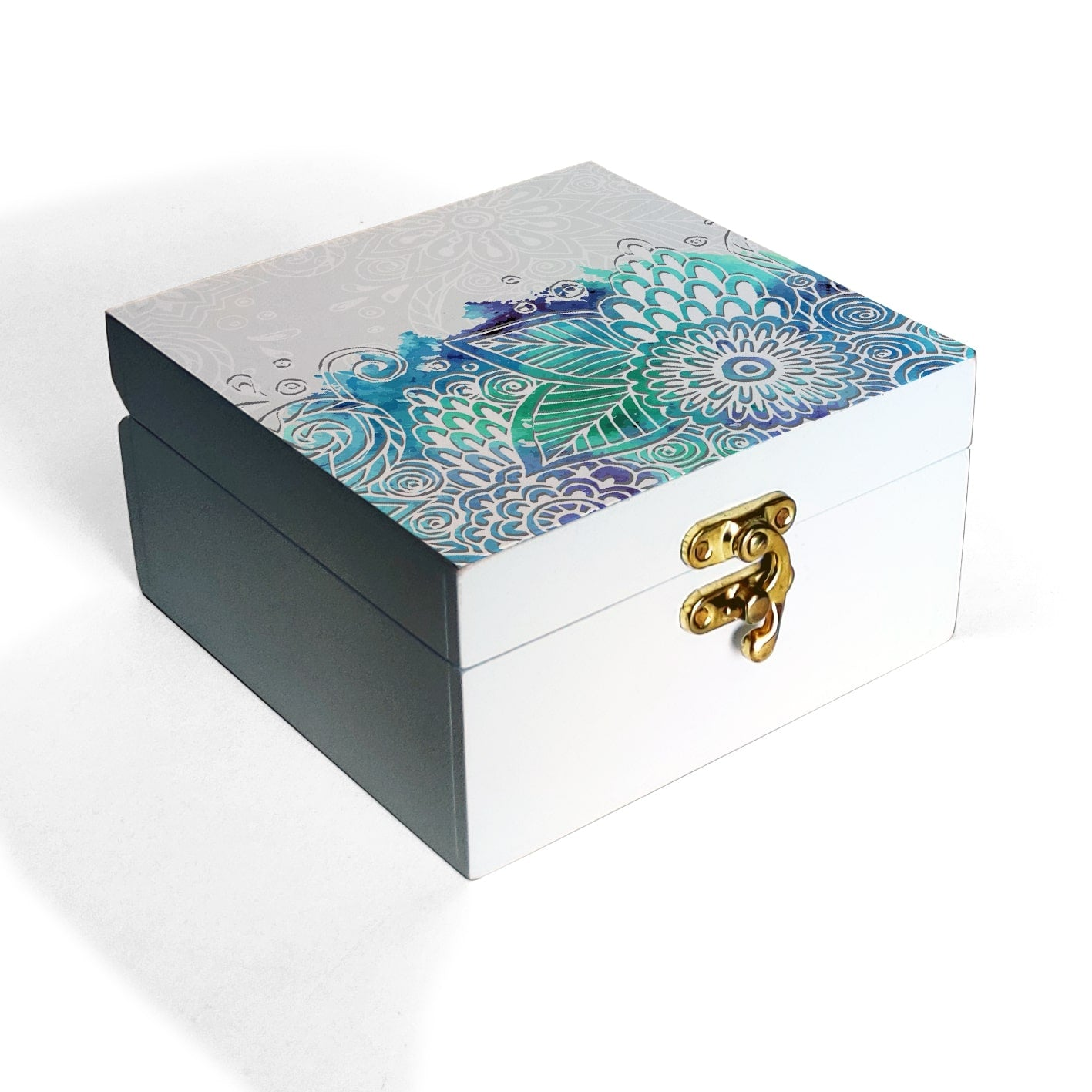 Abstract Flowers Box Petite
