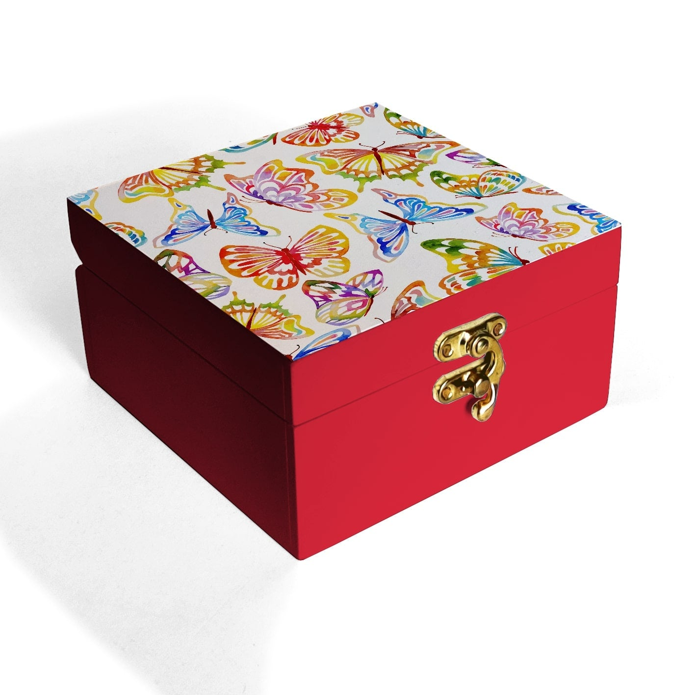 Watercolour Butterflies Box Petite