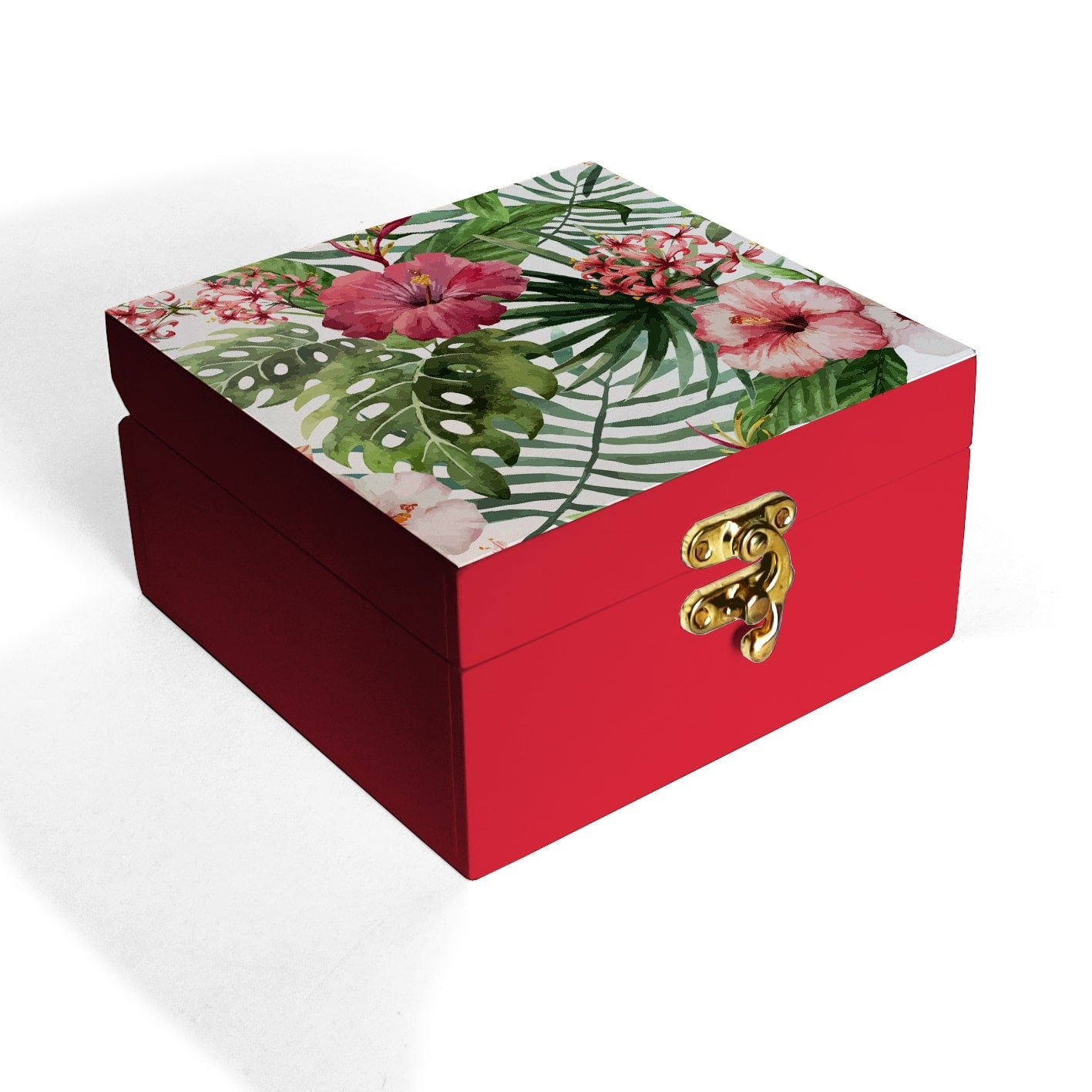 Tropical Hibiscus Box Petite