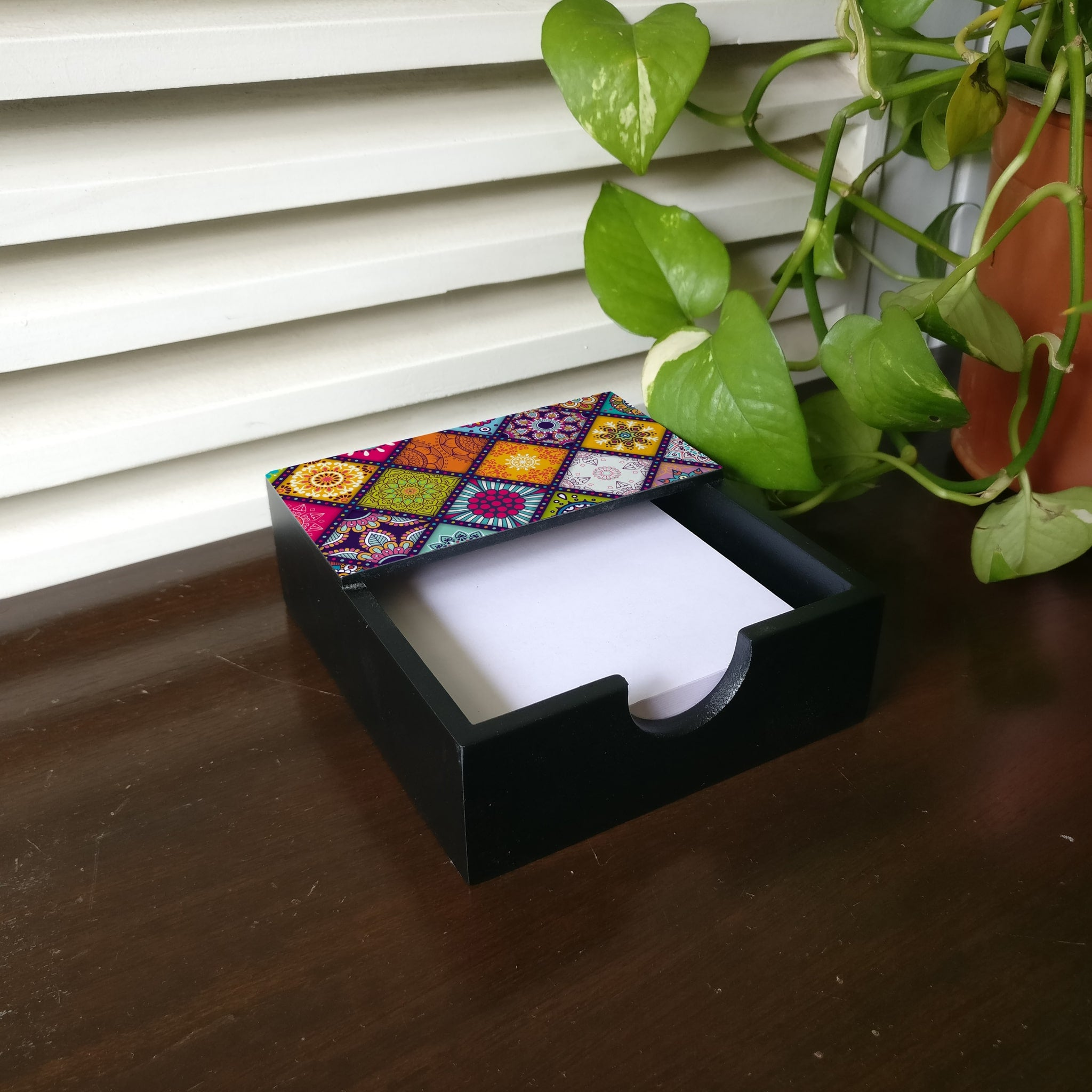 Multi Mandala Notepad Holder