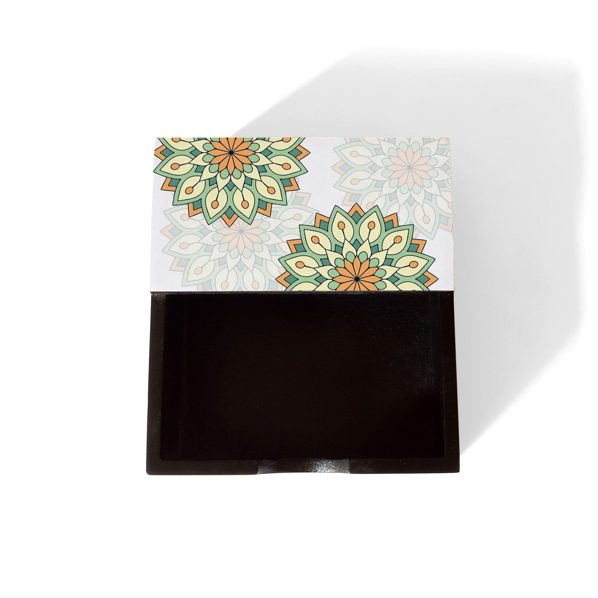 Green Mandala Notepad Holder