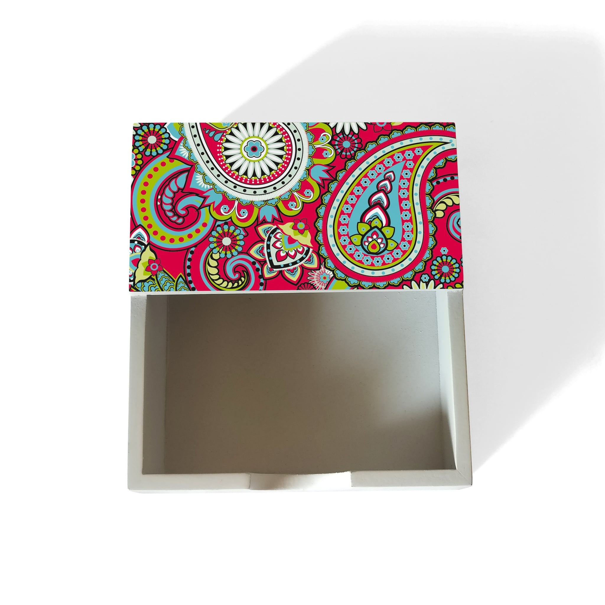 Pink Paisley Notepad Holder