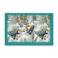 Toucan Tray with Cutout Handles