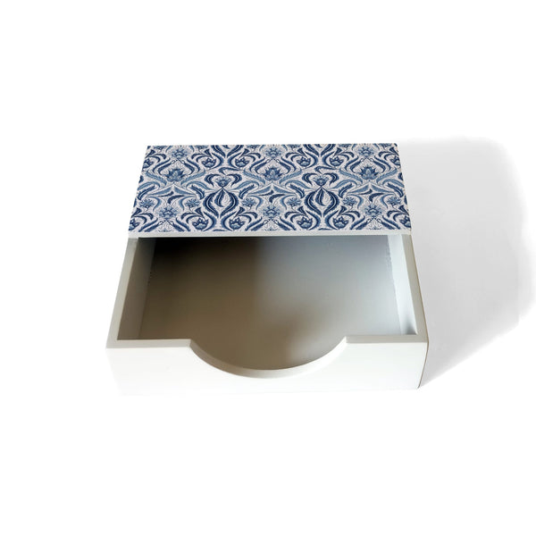 Liena Blue Tissue Holder