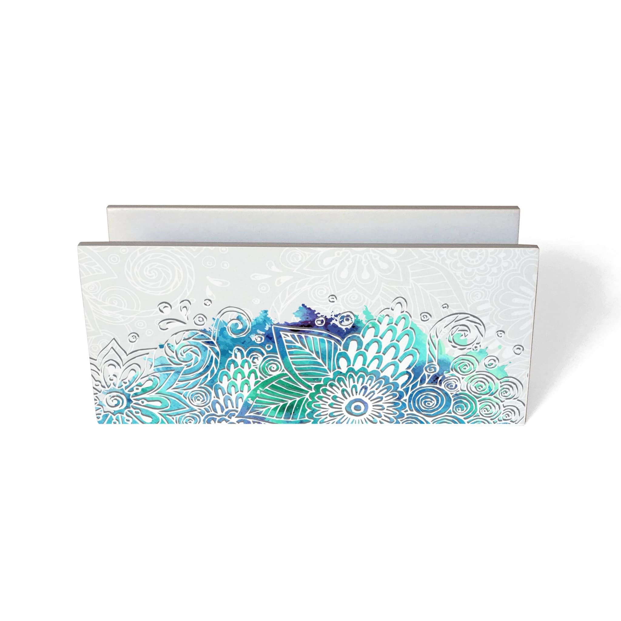 Abstract Flowers Tissue Stand
