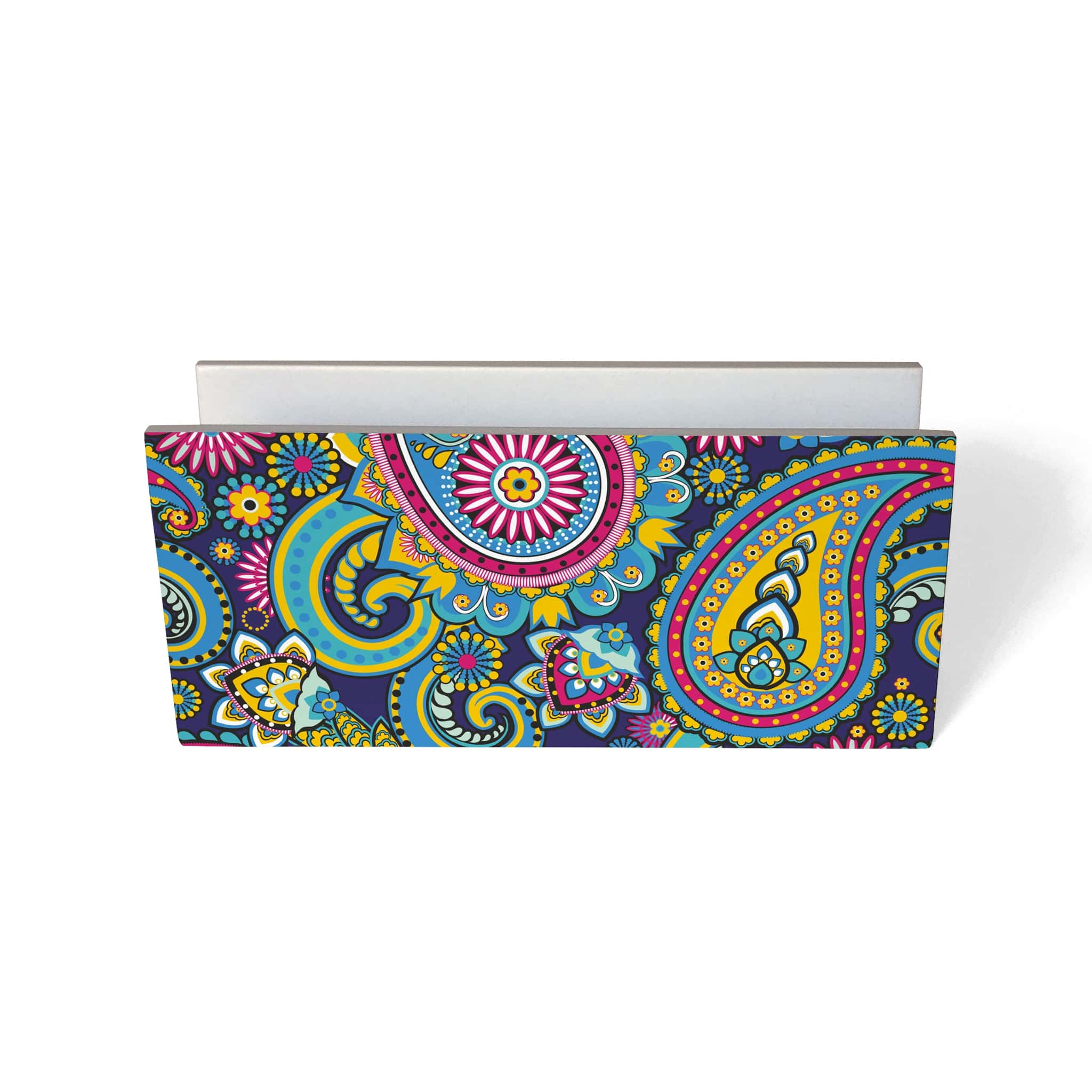 Blue Paisley Tissue Stand