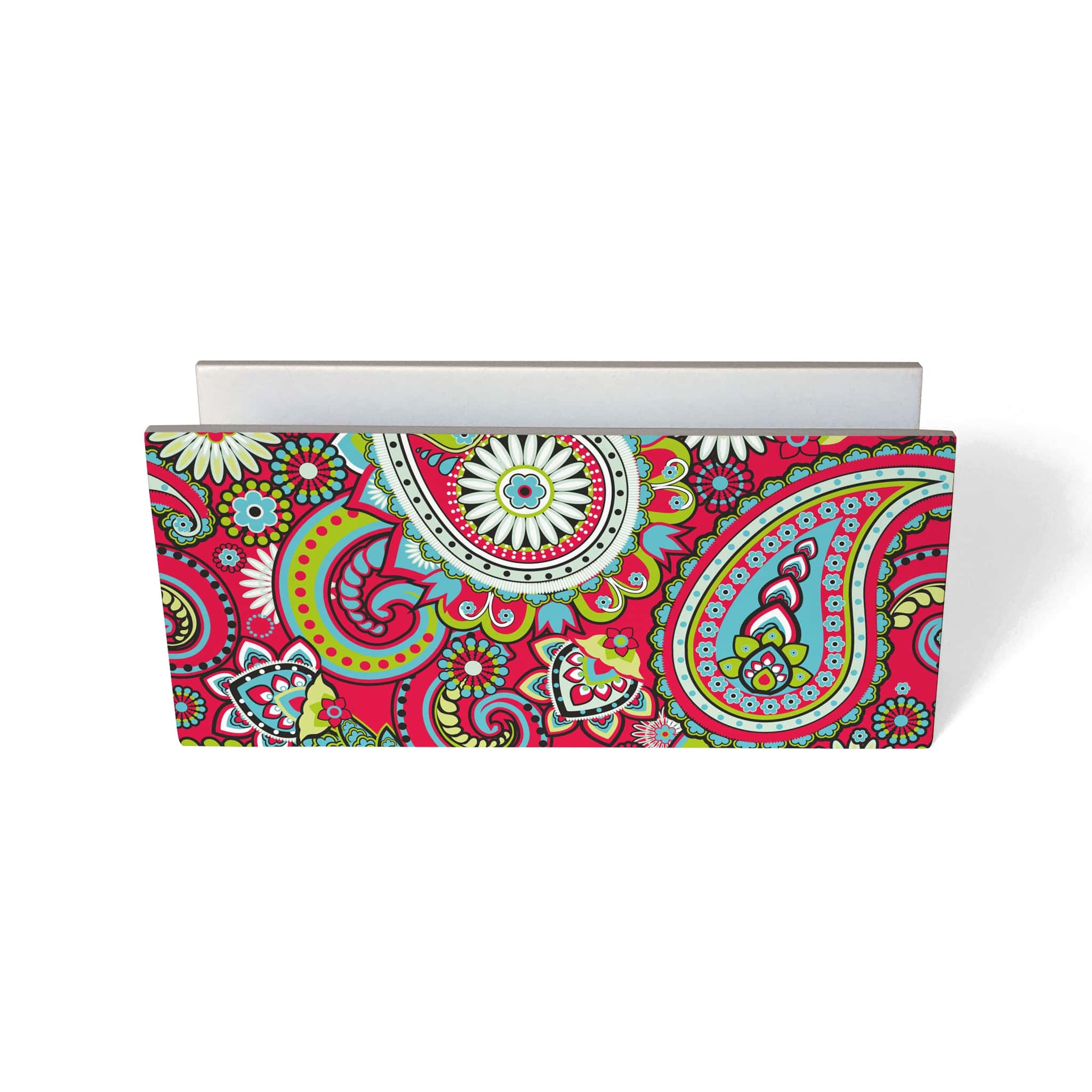 Pink Paisley Tissue Stand