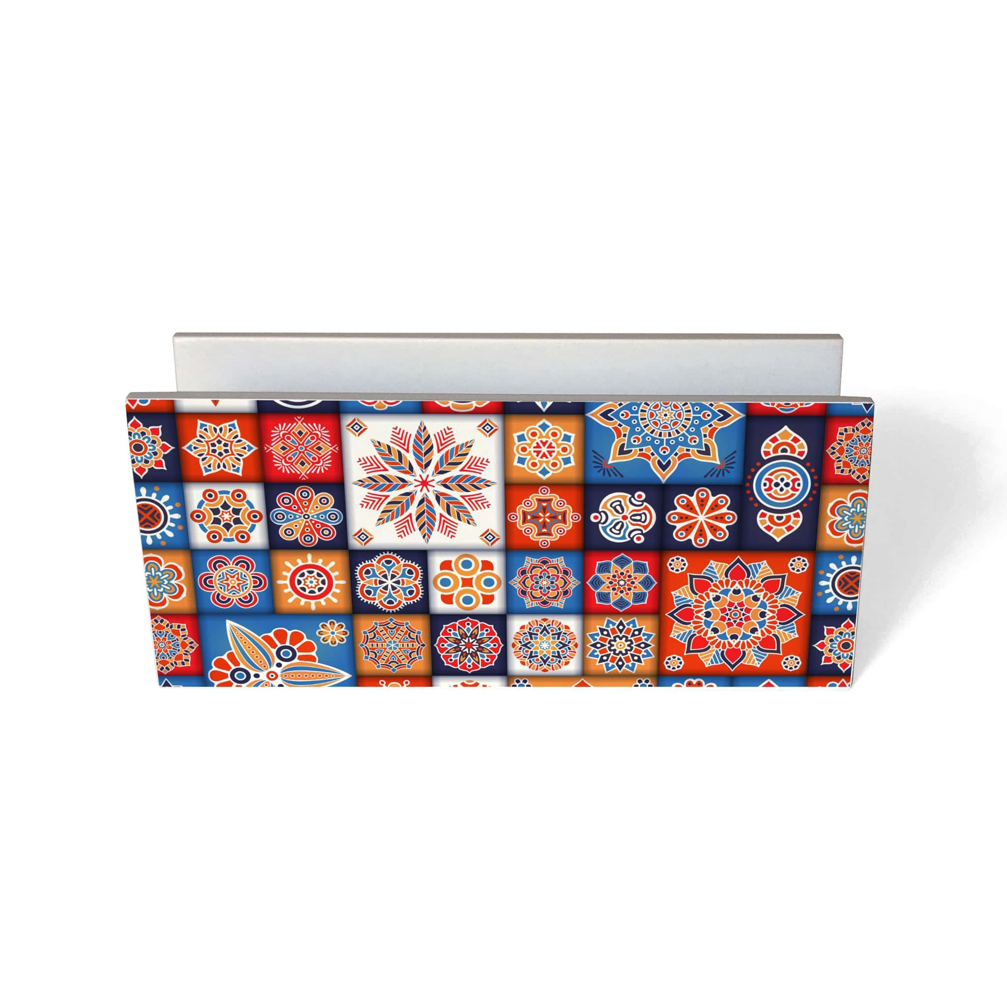 Floral Tiles Tissue Stand