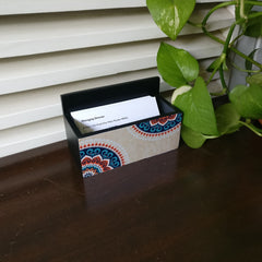 Mandala Vintage Visiting Card Holder