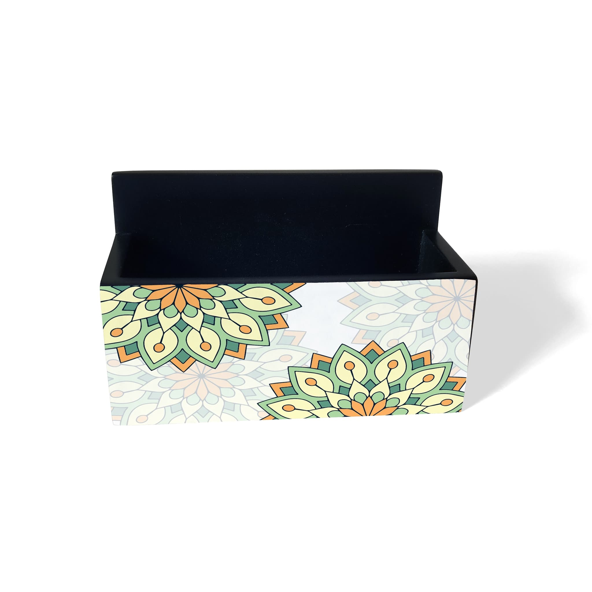 Green Mandala Visiting Card Holder
