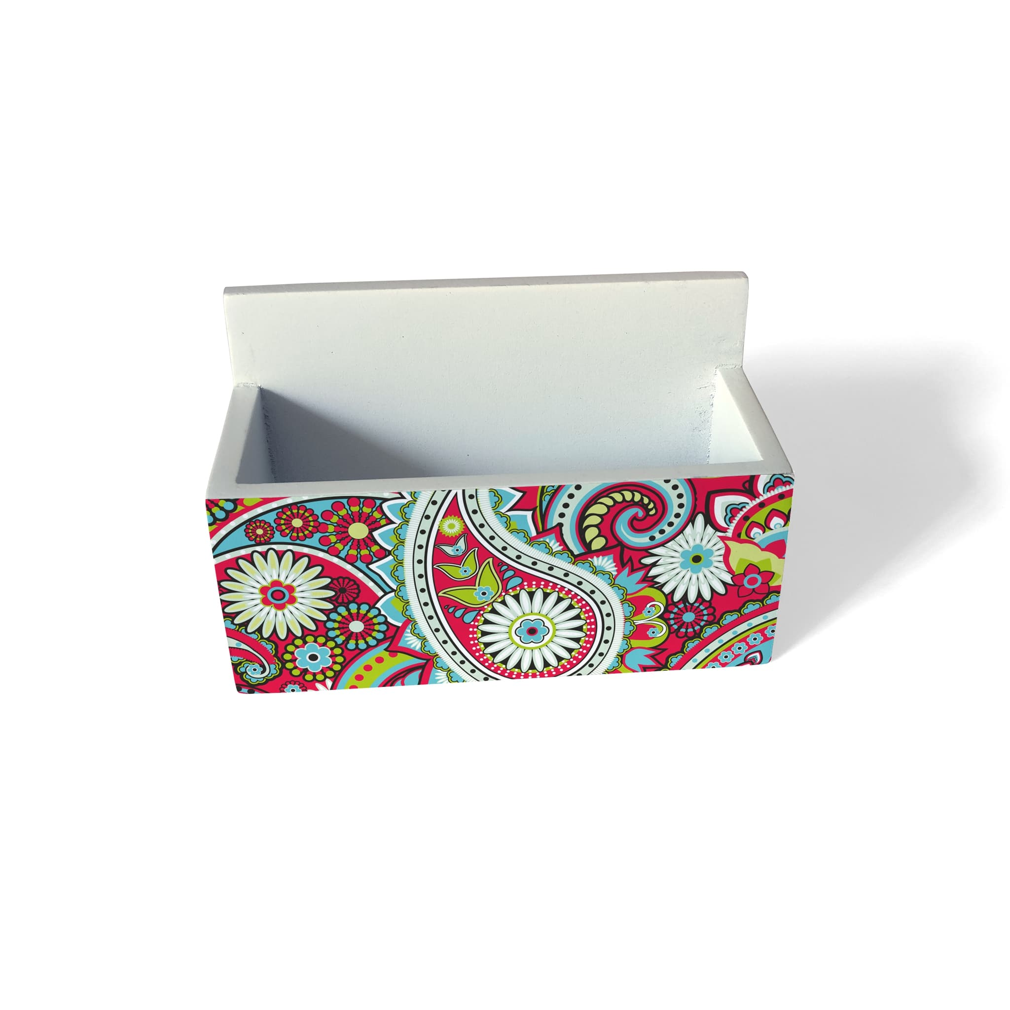 Pink Paisley Visiting Card Holder