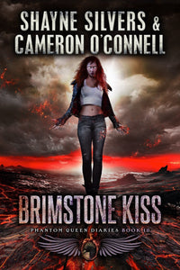 Brimstone Kiss: The Phantom Queen Diaries Book 10 - A Temple Verse Series (Signed Paperback) - Temple Verse Gear