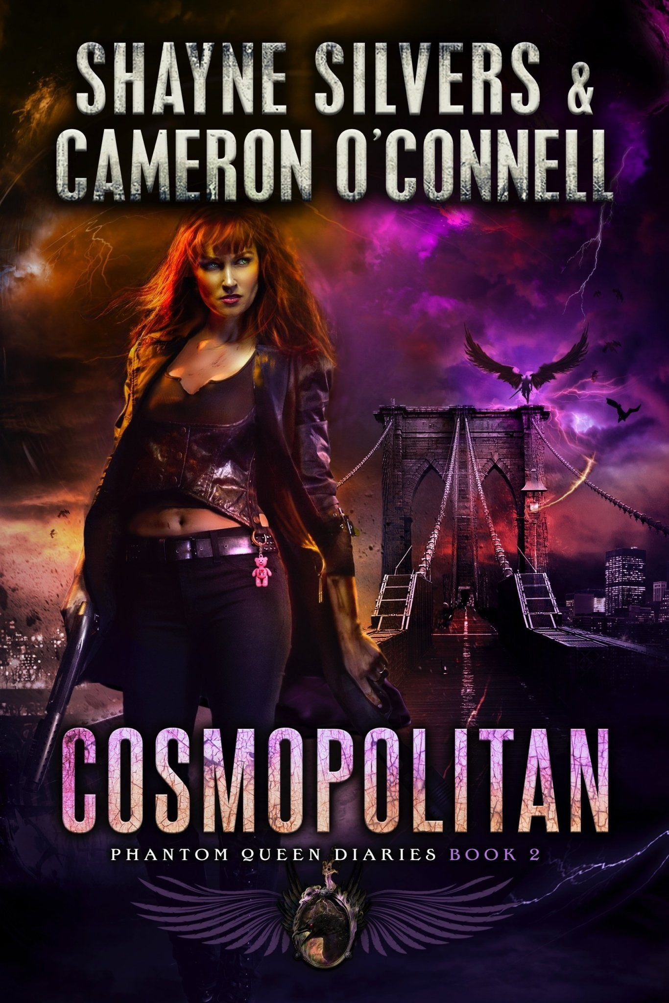 Cosmopolitan: The Phantom Queen Diaries Book 2 - A Temple Verse Series (Signed Paperback) - Temple Verse Gear