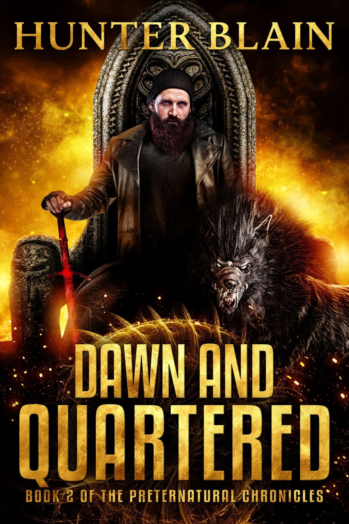 Dawn and Quartered: Preternatural Chronicles Book 2 - Temple Verse Gear