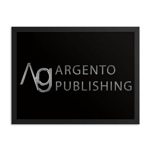 Framed Argento Publishing Poster - Argento Bookstore