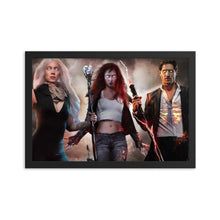 Framed Character Poster - Argento Bookstore