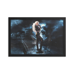 Framed Whispers Poster - Argento Bookstore