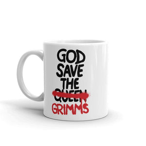 God Save the Grimms Mug - Temple Verse Gear