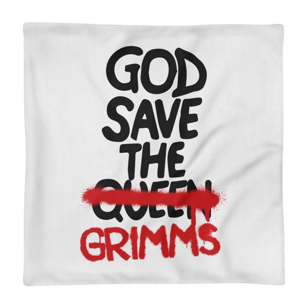 God Save the Grimms Pillow Case - Temple Verse Gear