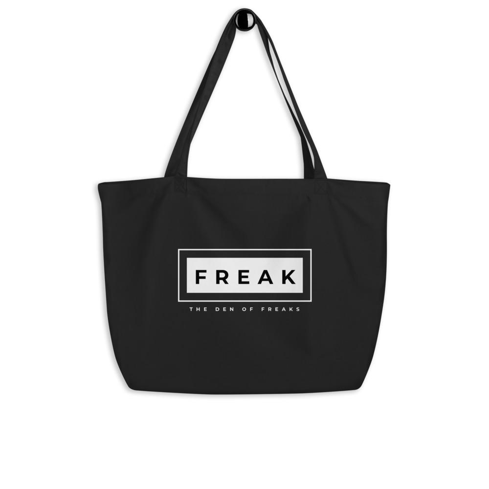 Large organic Freak tote bag - Temple Verse Gear