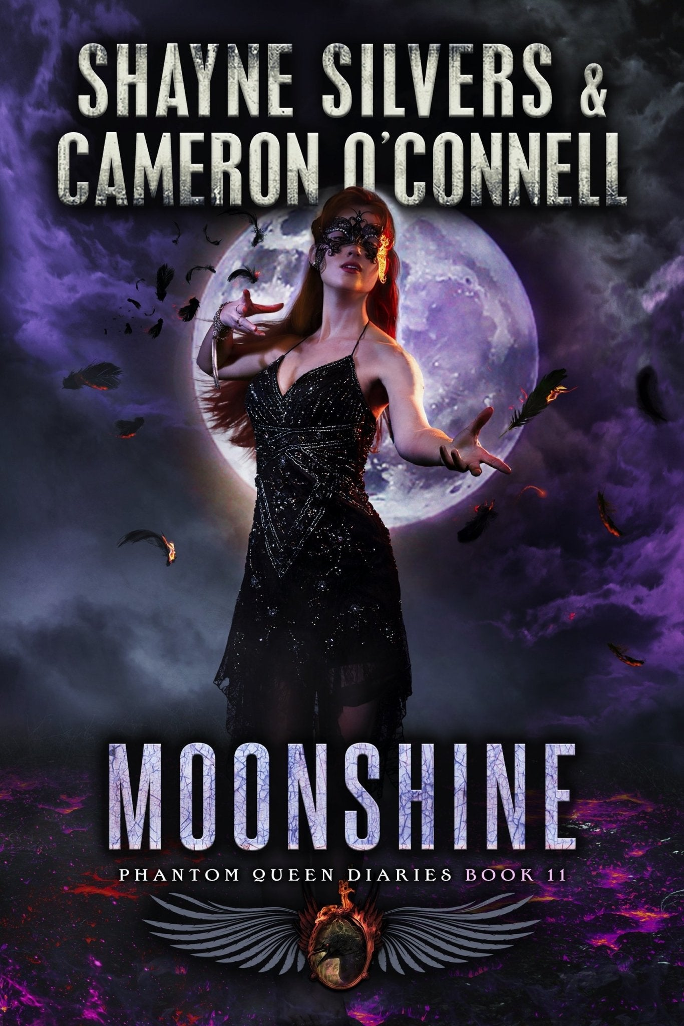 Moonshine: The Phantom Queen Diaries Book 11 - A Temple Verse Series (Signed Paperback) - Temple Verse Gear