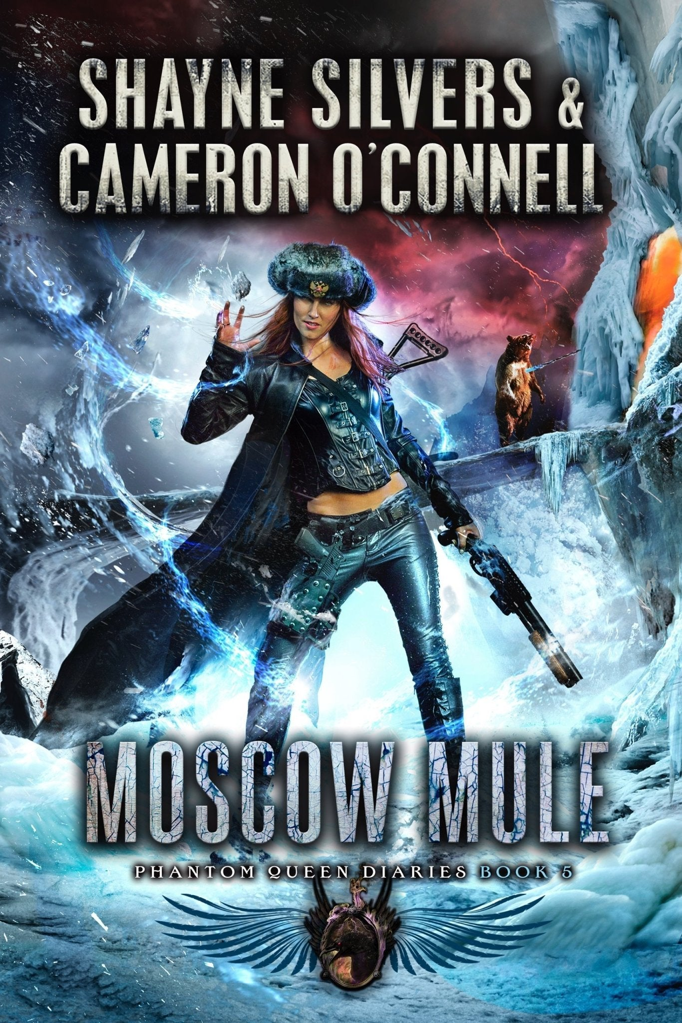 MOSCOW MULE: PHANTOM QUEEN SERIES BOOK 5 (SIGNED COPY) - Temple Verse Gear