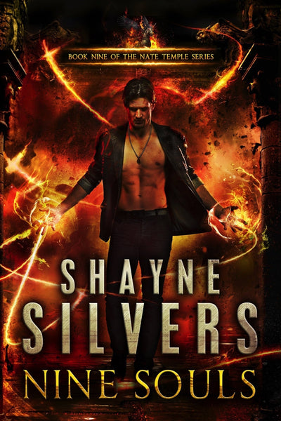 Nine Souls: A Nate Temple Series Book 9 (Signed Paperback) - Temple Verse Gear