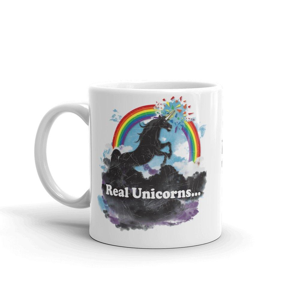 Real Unicorns Mug - Temple Verse Gear