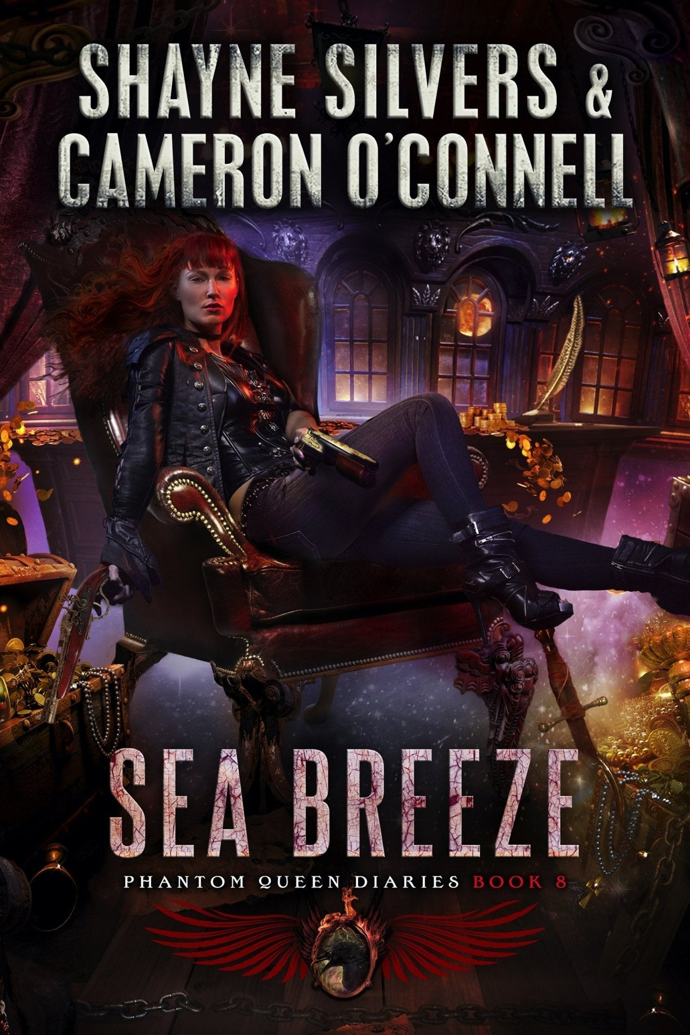 Sea Breeze: The Phantom Queen Diaries Book 7 - A Temple Verse Series (Signed Paperback) - Temple Verse Gear