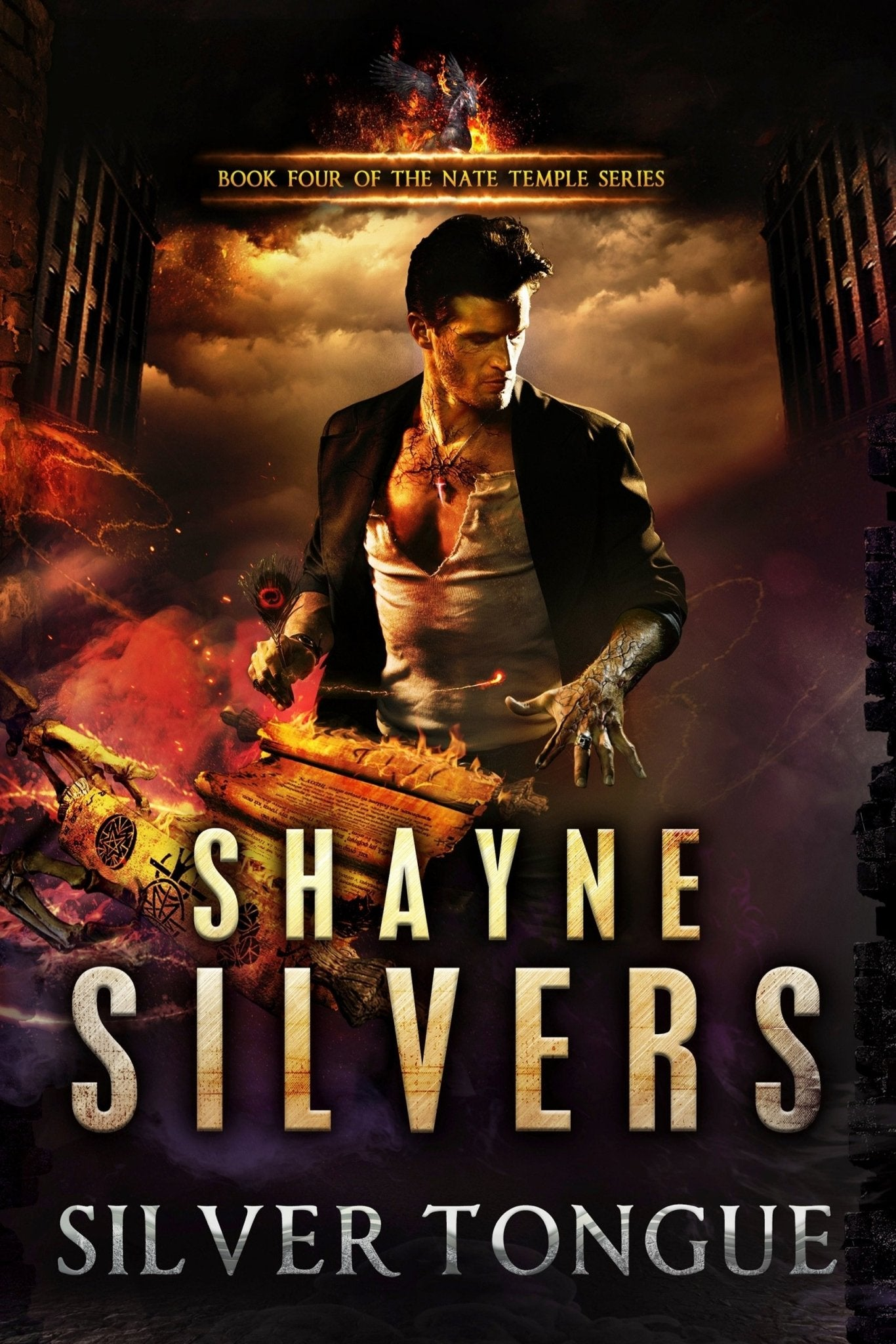 Silver Tongue: A Nate Temple Series Book 4 (Signed Paperback) - Temple Verse Gear