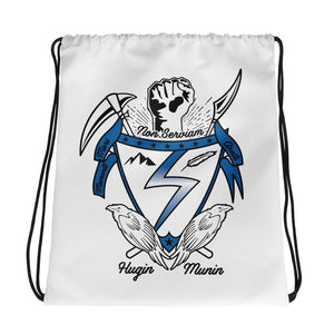 Temple Crest Drawstring bag - Temple Verse Gear