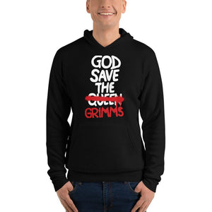Unisex God Save the Grimms hoodie - Temple Verse Gear
