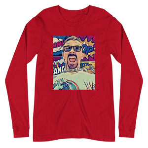 Unisex Long Sleeve Comic Tee - Temple Verse Gear