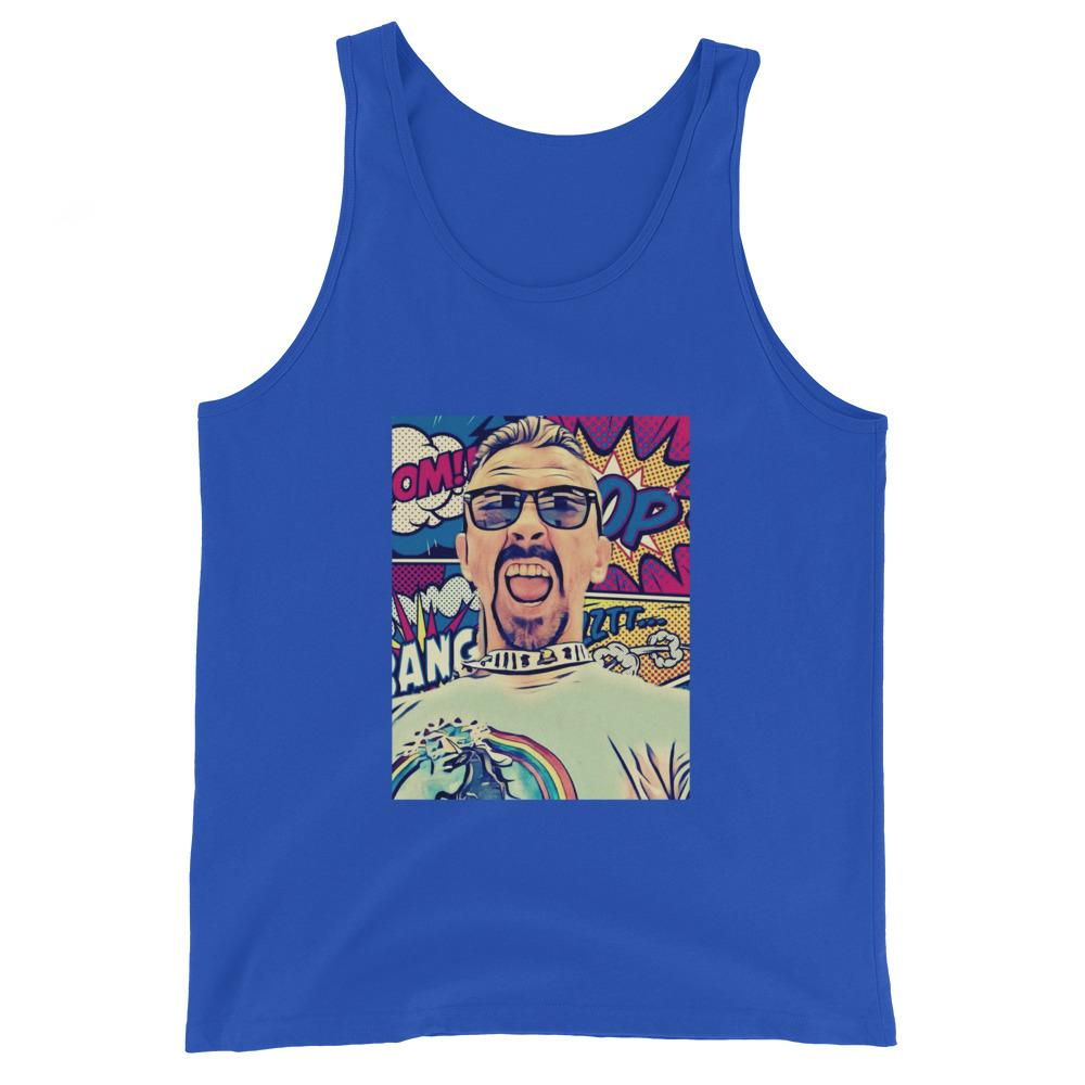 Unisex Shayne Comic Tank Top - Temple Verse Gear