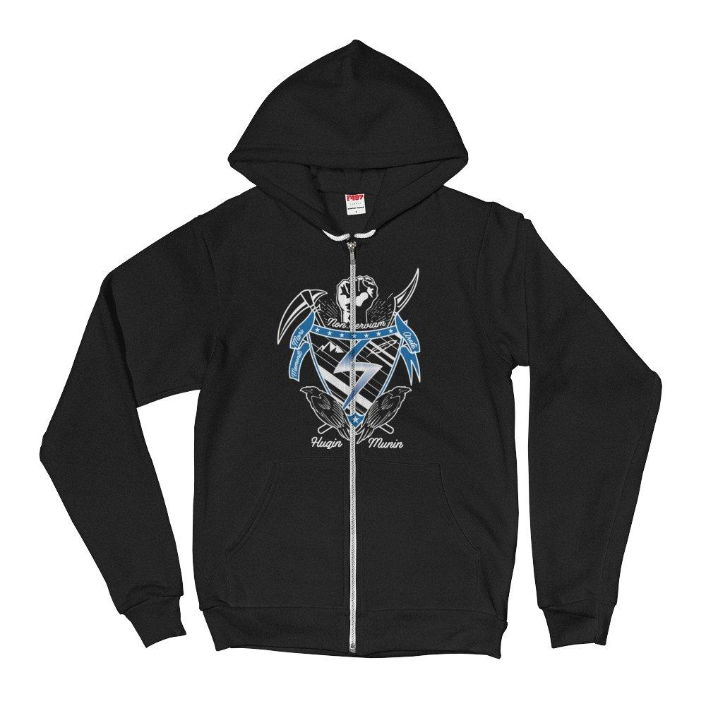 Unisex Temple Crest Hoodie (US Only) - Temple Verse Gear