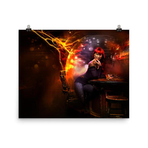 Whiskey Ginger Poster - Argento Bookstore