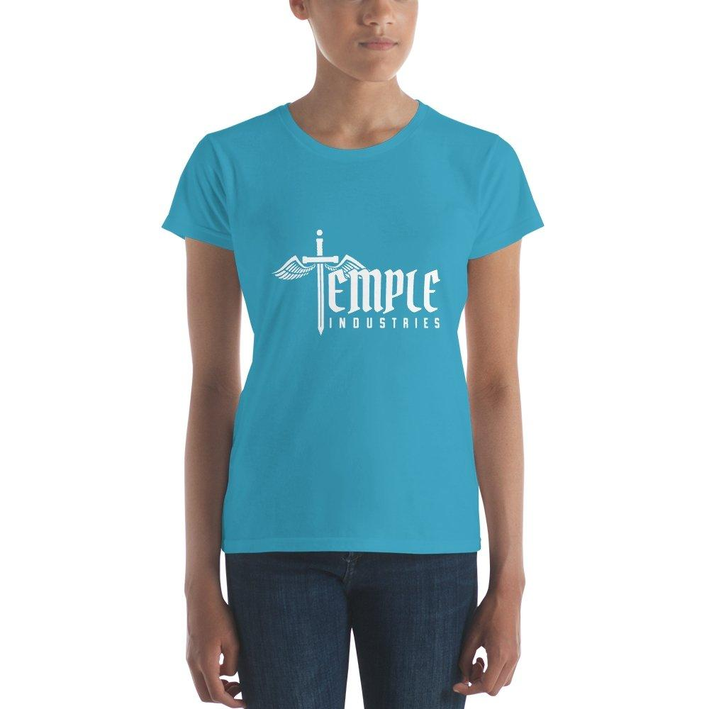 Women's Temple Industries T-shirt - Temple Verse Gear