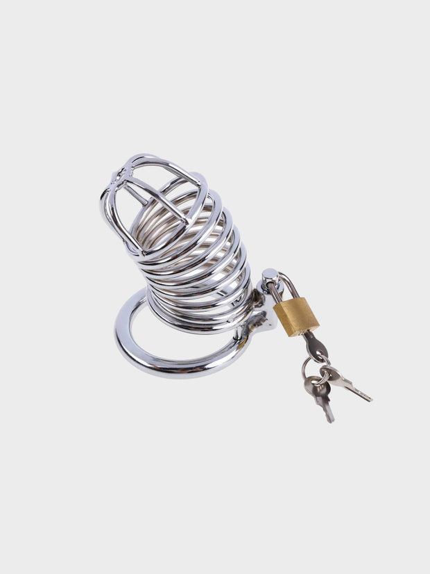 A chastity cage for beginners with lock