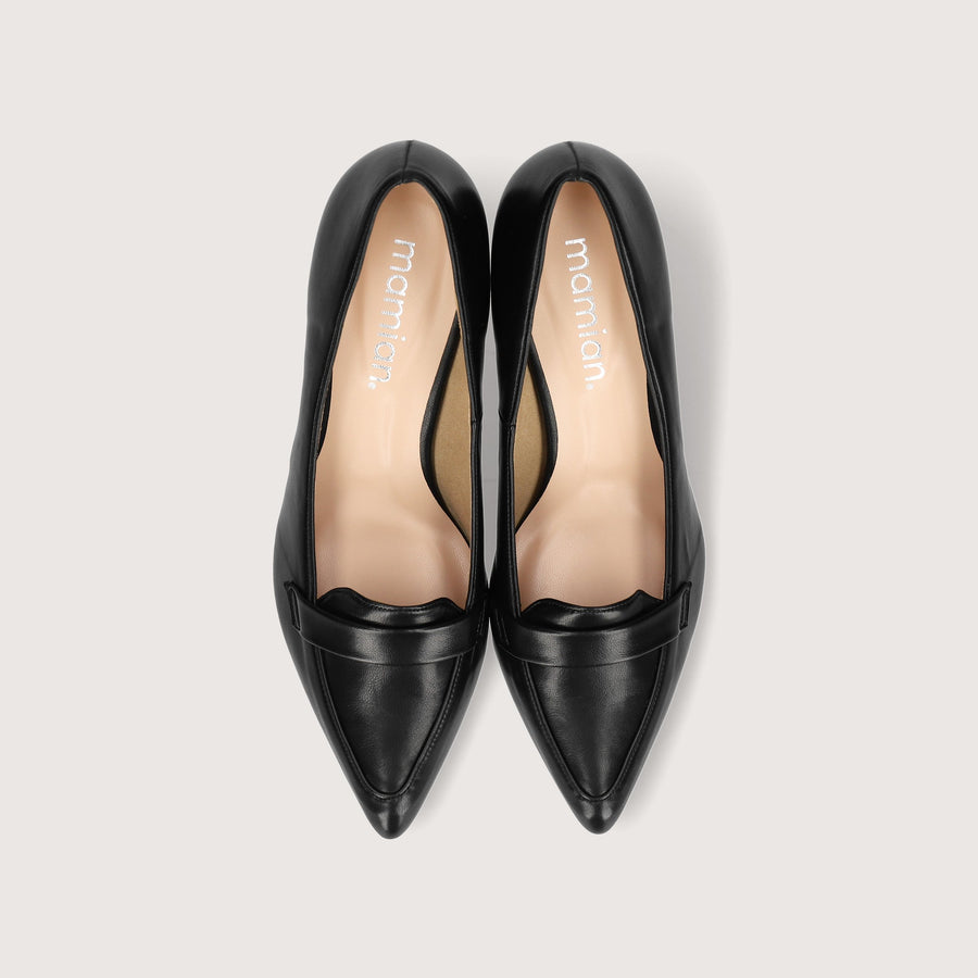 Loafer Design Pumps (5725) Black