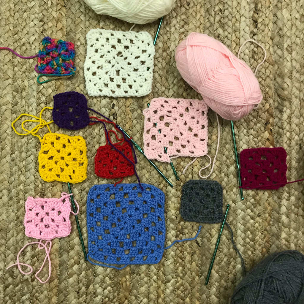 INTRO TO CROCHET: THE GRANNY SQUARE / MON MARCH 2ND / 6.30-8.30PM