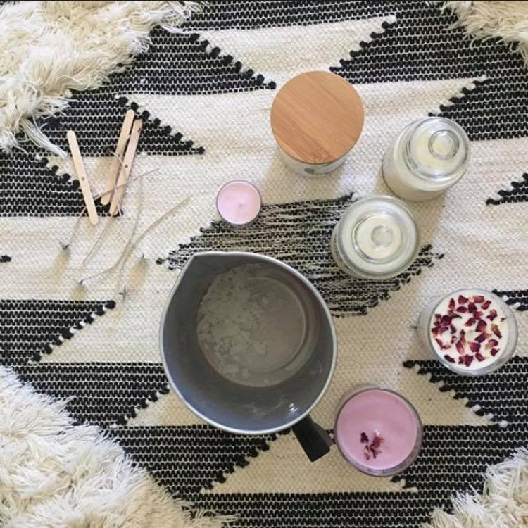 CANDLE MAKING WORKSHOP / SAT APRIL 24TH / 4-6PM