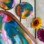 RESIN TRAY AND COASTERS / SAT JAN 30TH / 5-7PM