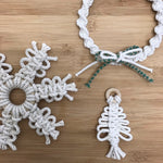 MACRAME CHRISTMAS DECORATIONS / SUN NOV 29TH / 9.30-11.30AM