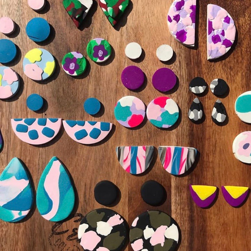 POLYMER CLAY EARRINGS KIT