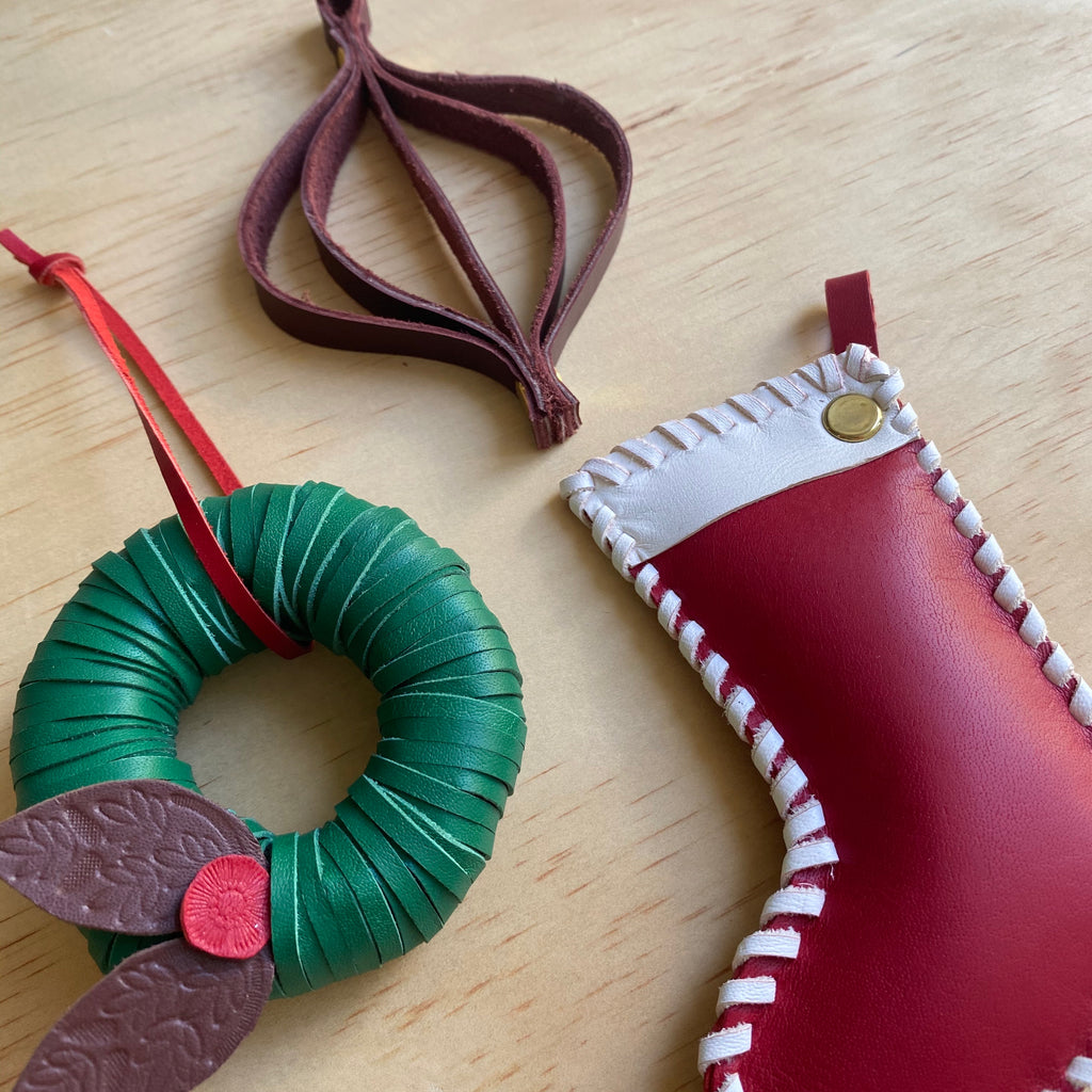 CHRISTMAS LEATHER CRAFT / TUES DEC 8TH / 6.30-8.30PM