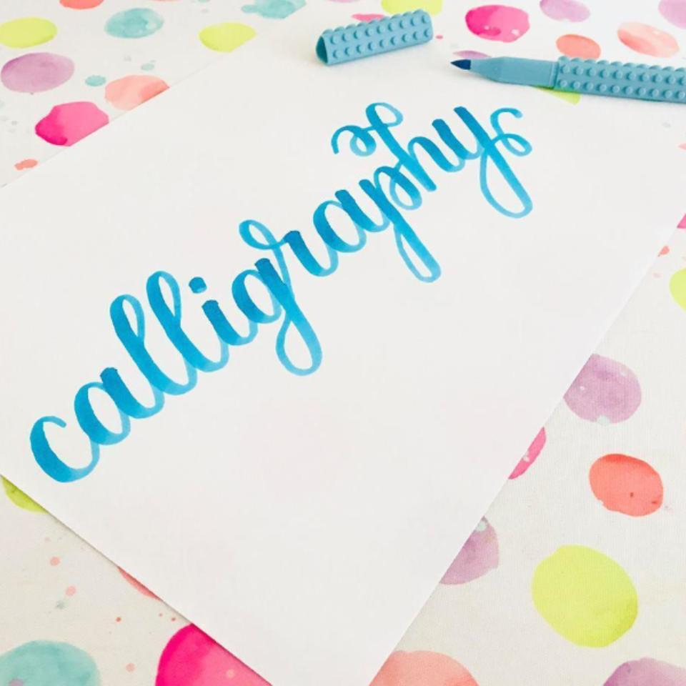 CALLIGRAPHY WORKSHOP / SAT FEB 1ST / 1-3PM