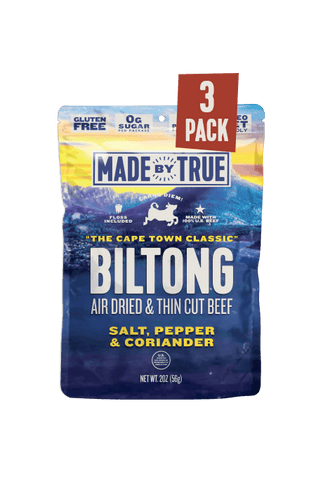 3 Pack Biltong - Classic Beef Slices 2oz