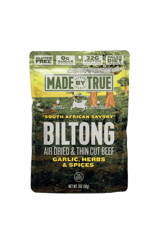 Garlic & Herb Beef Biltong Slices 2oz