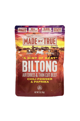 Chili Beef Biltong Slices 2oz