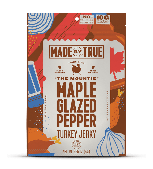 Maple Glazed Pepper Turkey Jerky